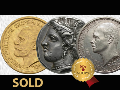 20 Mark 1905 sold for $19,000 on MA-Shops