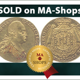 "Nice ""Podmokler Ducat"", 1772 sold on MA-Shops"