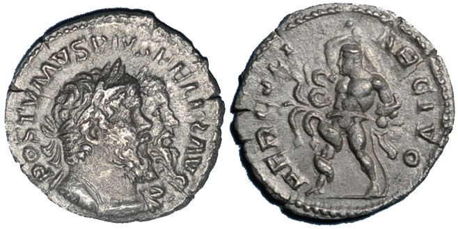 268 ROMAN EMPIRE Postume (260-269). Denier