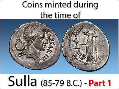 MA-Shops: Sulla and Venus. A new coin tradition. Part 1
