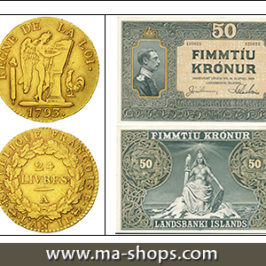 New beautiful coins on MA-Shops