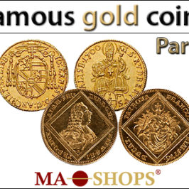 MA-Shops: One of the most famous gold coins in the world – Part 1