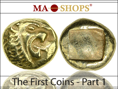 MA-Shops: The First Coins – Part 1