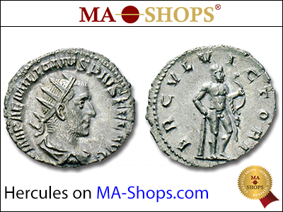 MA-Shops: Hercules on coins