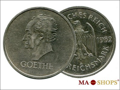 5 Mark Goethe 1932 – A philosophical delight