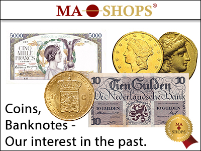MA-Shops: Collecting coins and banknotes