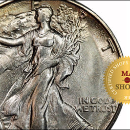 Beautiful in themselves 50¢ 1929-S Walking Liberty