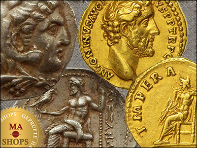 MA-Shops: Jupiter on Coins