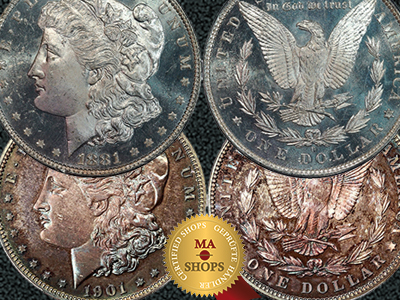 MA-Shops presents the Morgan Dollar