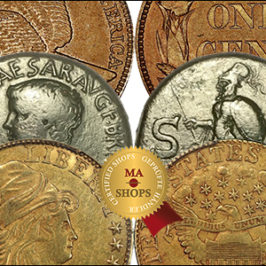 MA-Shops Presents Exceptional Coins