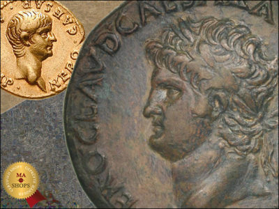 MA-Shops: Coins of Nero Caesar