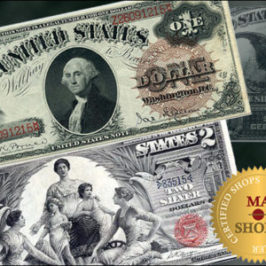 Great Offer of US Banknotes on MA-Shops