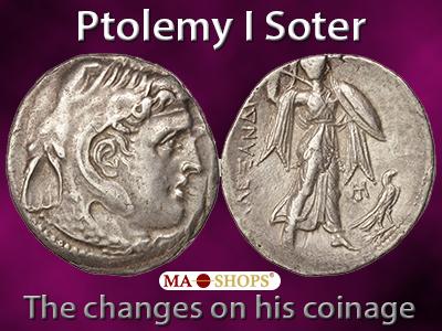 Ptolomy I Soter on MA-Shops