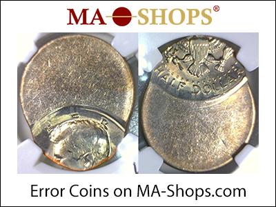 MA-Shops: Error Coins