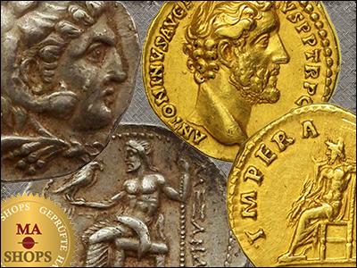 MA-Shops: Jupiter on Coins