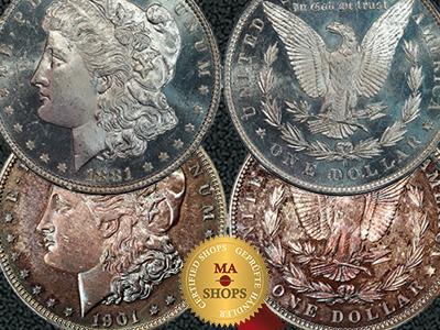 MA-Shops presents the Morgan Dollar