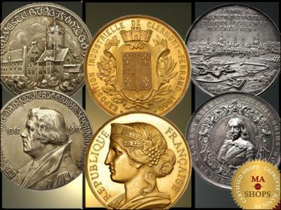 Impressive medals on MA-Shops